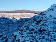Обвал на реке Бурея в районе села Чекунда Верхнебуреинского района Хабаровского края