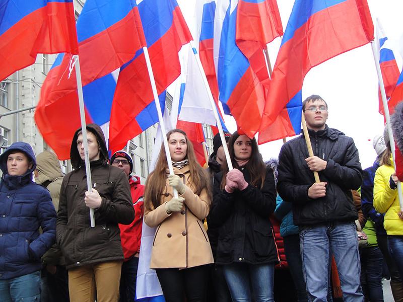 """""""Левада-Центр"""": более трети россиян считают, что надо налаживать отношения с Западом, но тех, кто ненавидит США, ЕС и Украину, большинство"""
