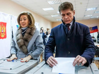 В тот день на должность главы региона с третьей попытки был избран самовыдвиженец и врио губернатора Приморского края Олег Кожемяко