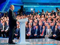 """Путин велел единороссам не опускаться """"ниже плинтуса"""" в общении с народом"""