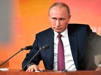 """До самой ночи в окнах Путина не гас свет - он работал с документами, изучал цифры, факты перед встречей со СМИ, на которой """"нет режиссуры"""""""
