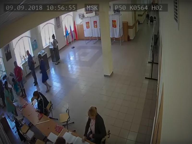 """Журналисты """"Новой газеты"""" отсмотрели более 1000 часов видео с камер наблюдения, установленных на избирательных участках в Единый день голосования 9 сентября"""