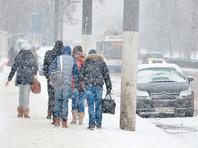 МЧС предупредило жителей Москвы о снегопаде и гололедице