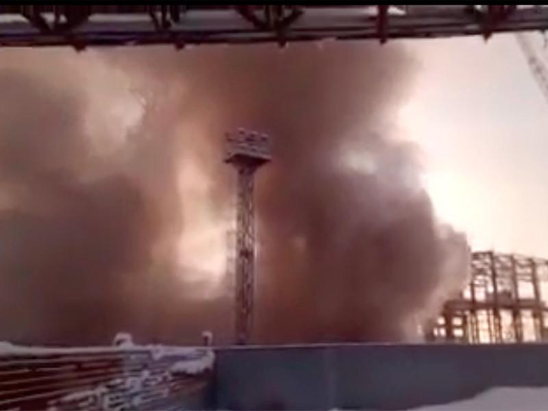 В Пермском крае возбуждено уголовное дело по факту пожара на строящемся стволе шахты в Соликамске, где на глубине 350 метров заблокированы 9 горняков