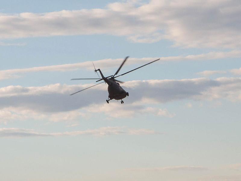 В Томской области упал вертолет, перевозивший нефтяников с месторождения индийской ONGC