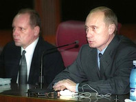 Владимир Путин и Алексей Громов, декабрь 2000 года