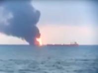 Шансов найти живыми моряков с горящих в Керченском проливе судов не осталось