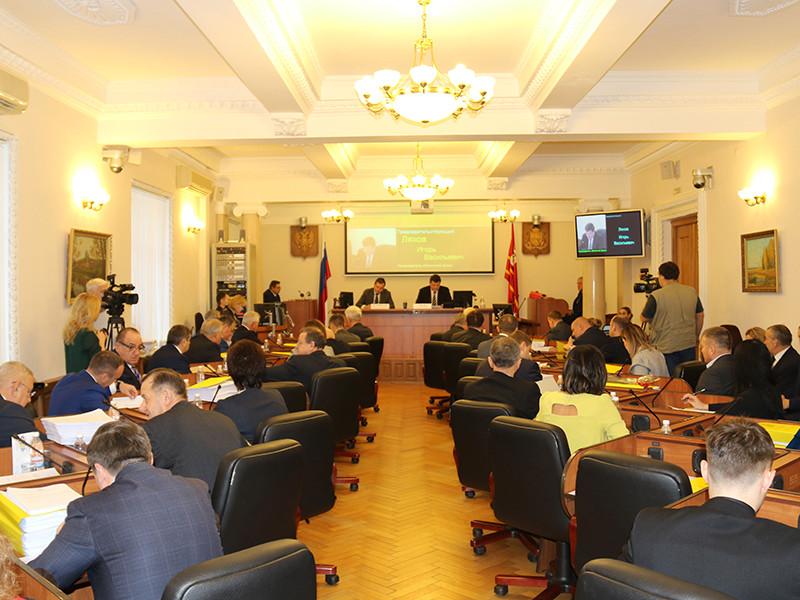 Заседание Смоленской областной Думы, декабрь 2018 года