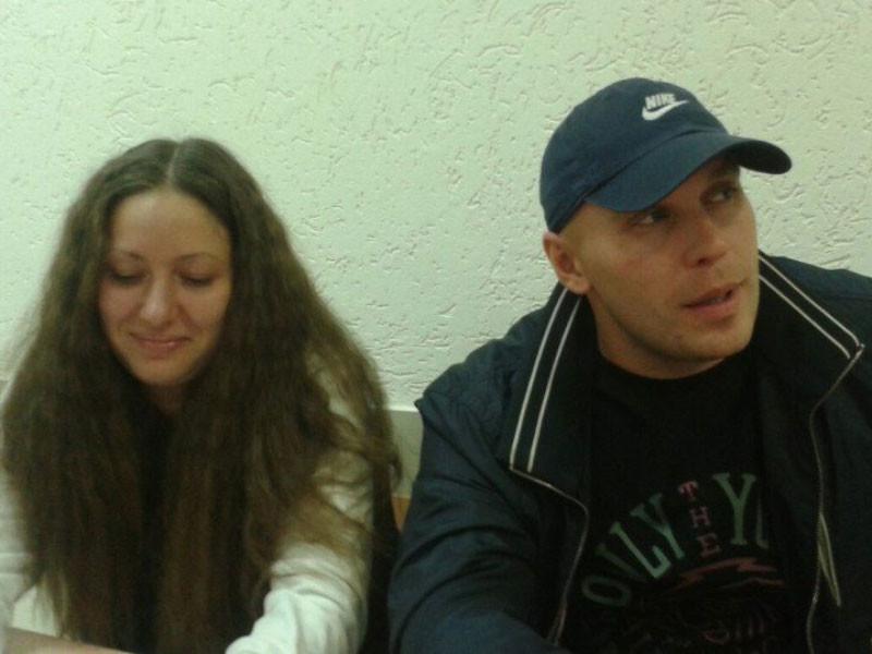 """Координатор общественного движения """"Открытая Россия"""" Лия Милушкина и ее муж Артем были задержаны дома"""