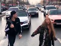 Блогеров, перекрывших Новый Арбат ради съемок клипа, арестовали на 10 суток