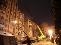 В городе Шахты продолжаются спасательные работы в эпицентре взрыва