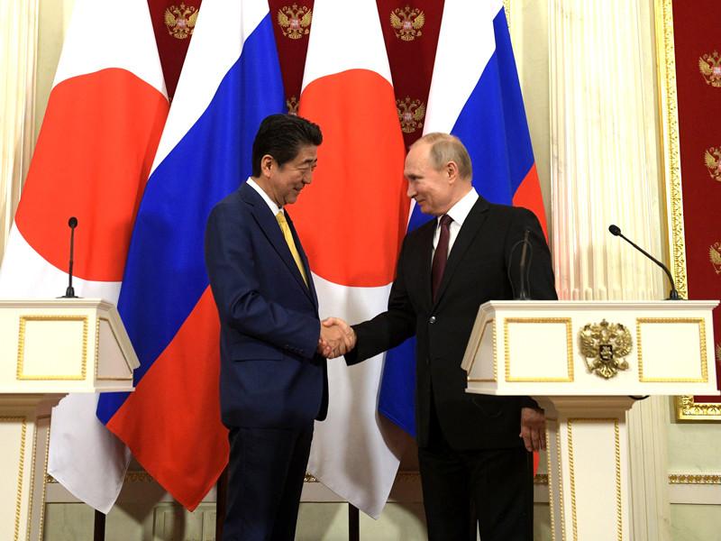 В Москве окончены переговоры президента России Владимира Путина и премьер-министра Японии Синдзо Абэ