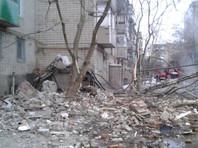 После взрыва в доме в Шахтах сохраняется угроза дальнейшего обрушения