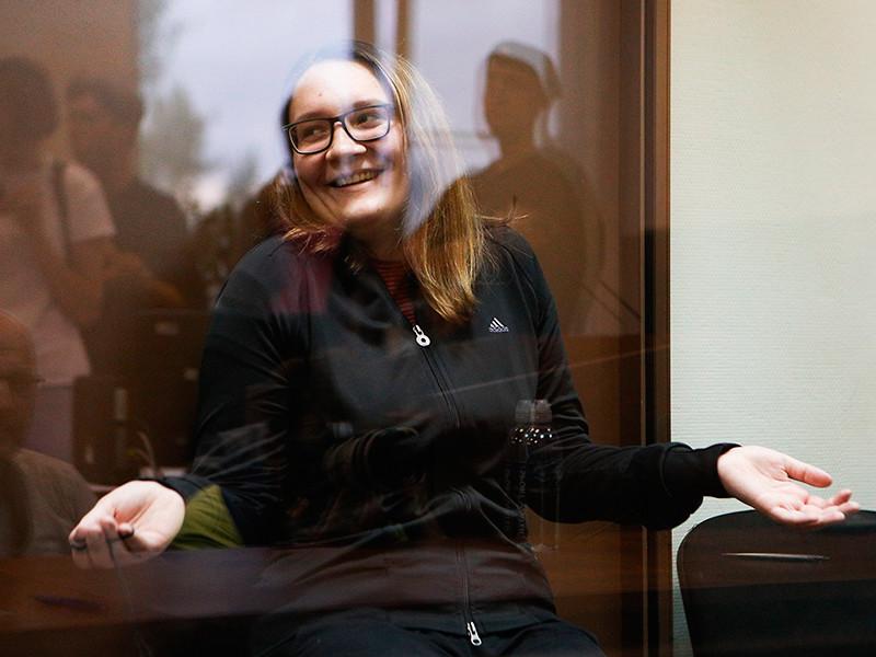 Участнице движения «Новое величие» Мария Дубовик