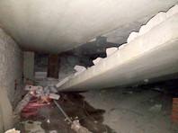В Перми в 14-этажном одноподъездном доме произошло обрушение перекрытия между техническим этажом и крышей дома