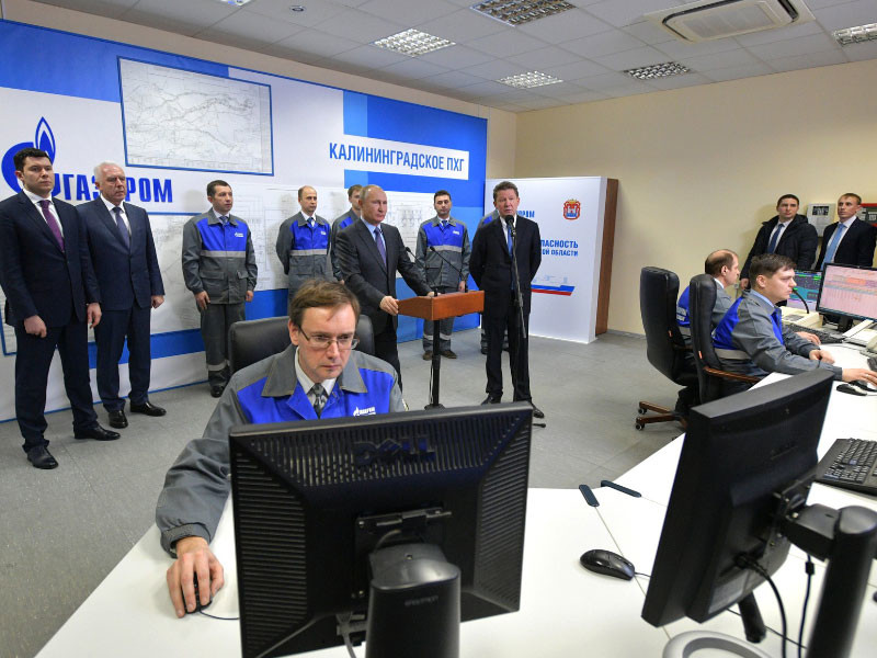 Газоснабжение Калининградской области России 8 января переведено в автономный режим путем поставок газа с плавучего морского терминала