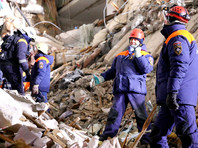 Из-под завалов дома в Магнитогорске, где погибли десятки людей, спасатели достали живыми кошку и попугая (ФОТО)