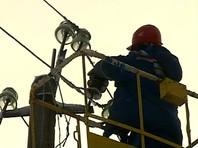 В Крыму 10 тысяч человек остались без электричества из-за непогоды