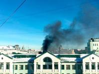 В Москве загорелось здание консерватории имени Чайковского
