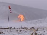 Военные инженеры взорвали природную плотину, которая образовалась в результате обрушения сопки у Бурейской ГЭС в Хабаровском крае