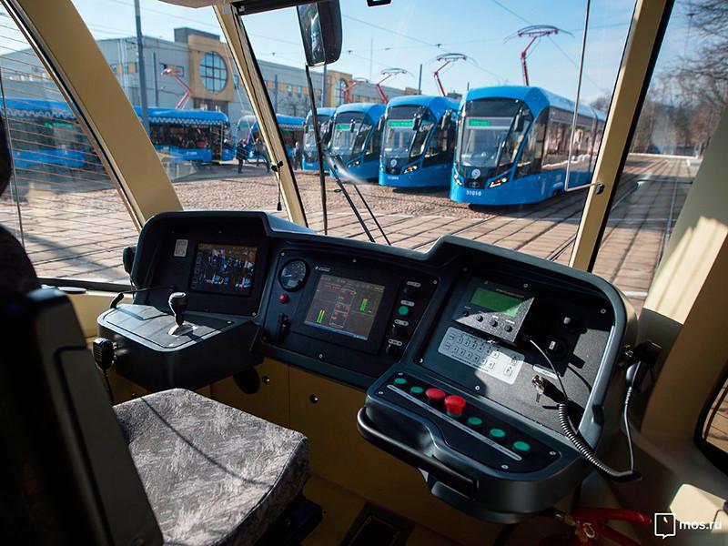 Первый в России беспилотный трамвай опробуют на столичном маршруте