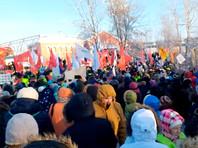"""Протесты против """"мусорной реформы"""" прошли в четырех десятках городов России"""