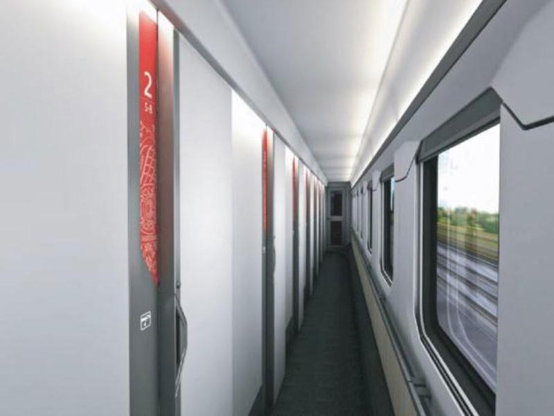 РЖД показала интерьер новых железнодорожных вагонов