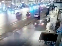 На Невском проспекте в Петербурге BMW X-6 врезался в людей. Погибли гражданин США и москвичка