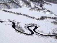 Река Тихая в Кроноцком заповеднике