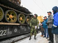 Россияне возмущены вояжем по городам и весям поезда с военными трофеями сирийских исламистов (ФОТО)