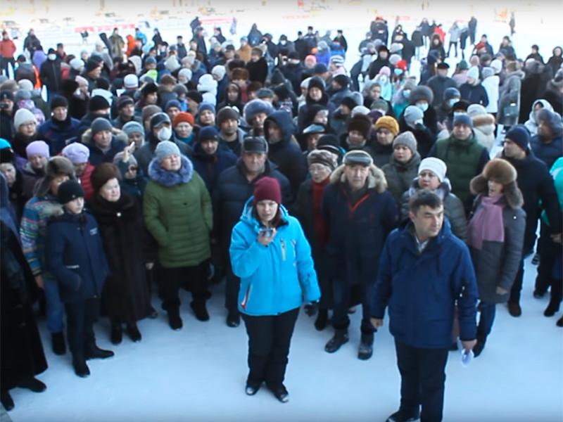 Жители башкирского Сибая, страдающие от серного смога, записали ВИДЕОобращение к Путину