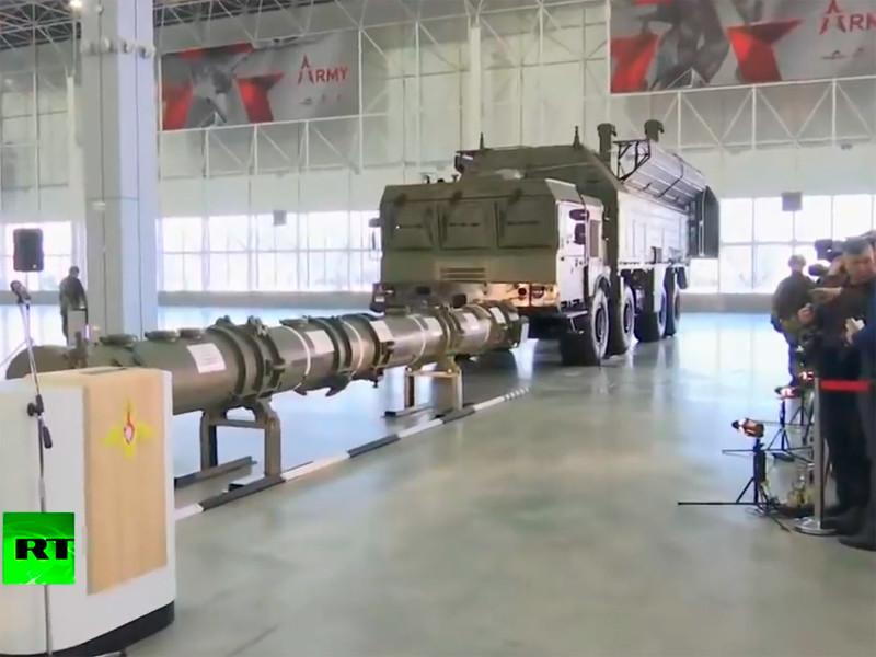23 января 2019 года Минобороны и МИД РФ провели совместный брифинг для военных атташе иностранных государств в Москве, на котором продемонстрировали военное оборудование, якобы относящееся к ракете 9М729, которая, как считают в Вашингтоне, нарушает ДРСМД