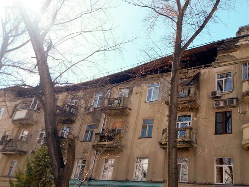 В Саратове обрушилась кровля жилого дома - памятника, где шесть лет назад делали ремонт. Это уже четвертый случай в городе