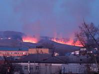 Пожарных двух регионов не заинтересовала горящая гора у Абакана в период повышенной пожарной опасности (ВИДЕО)