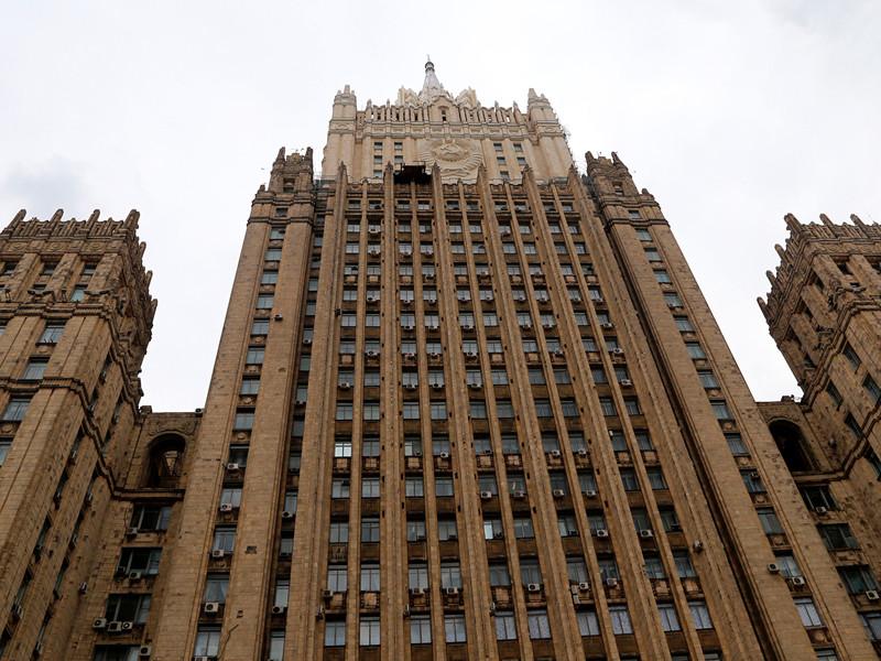 МИД России вернул Министерству иностранных дел Украины ноту протеста, которая была направлена в связи с поездкой президента России Владимира Путин в Крым