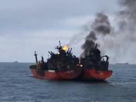Пожар на одном из танкеров в Черном море, горевших более месяца, ликвидирован
