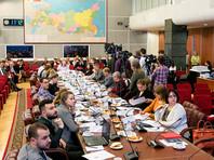 24 апреля председатель ЦИК России Элла Памфилова провела встречу с представителями СМИ