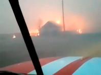Пожар в Усть-Ималке