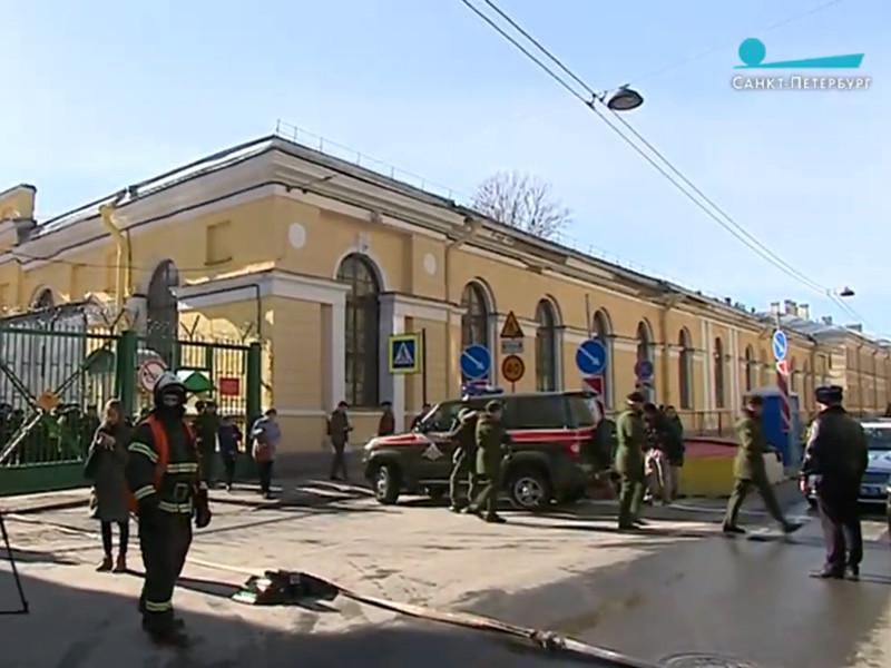 В Петербурге произошел взрыв в здании Военно-космической академии