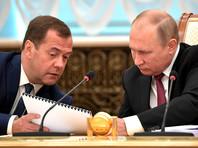 В 2018 году премьер Медведев заработал больше президента Путина