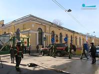 В Петербурге произошел взрыв в здании Военно-космической академии (ВИДЕО)