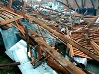 Шторм в Сибири: ветер срывает крыши зданий в Новосибирске и Томске, Омск засыпало снегом (ФОТО, ВИДЕО)