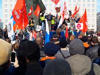 В Архангельске тысячи человек вышли на несанкционированный митинг против строительства мусорного полигона