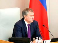 Володин предложил допустить Госдуму к формированию кабинета министров