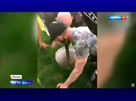 В московском парке девочку спасли из колодца с помощью другого ребенка