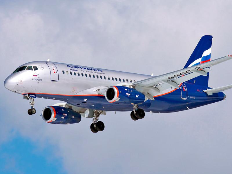 "SSJ 100-95 ""Аэрофлота"""