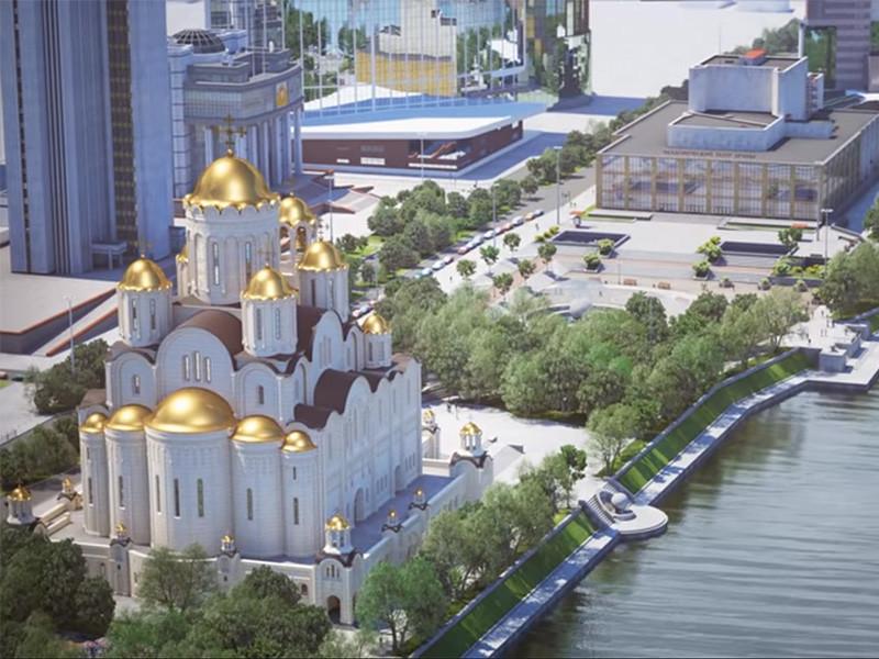 В Екатеринбургской епархии заявили, что на результатах опроса ВЦИОМ о строительстве храма Святой Екатерины в сквере у Театра драмы в Екатеринбурге сказалось обострение ситуации, поэтому результат опроса не может отражать действительного положения дел