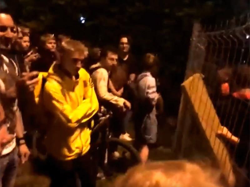 Стихийный протест против строительства храма в Екатеринбурге продолжался всю ночь