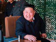 Ким Чен на испытаниях ракет малой дальности, 9 мая 2019 года