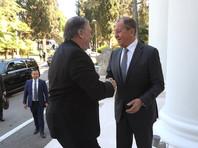 Встреча Сергея Лаврова и Майкла Помпео